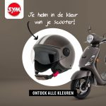SYM scooter helm